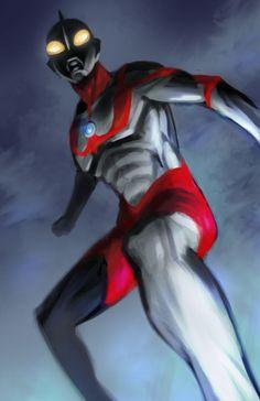 Ultraman by ~pungang on deviantART