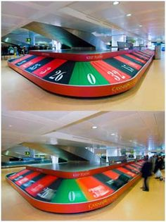 Gambling or travelling?