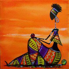 African Artwork, African Art Paintings, Mandala Art Lesson, Mandala Drawing, Acrylic Wall Art, Diy Canvas Art, Worli Painting, Afrique Art, Art Beat