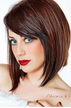 Rich, glossy haircolor