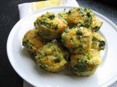 Spinach and Broccoli Quinoa Cups
