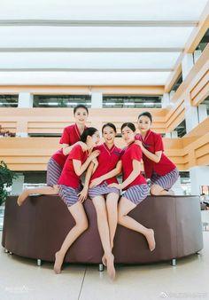 愼 ☼ ριητεrεsτ policies respected.( *`ω´) If you don't like what you see❤, please be kind and just move along. Stewardess Pantyhose, China Southern Airlines, Airline Uniforms, Girls Uniforms, Cabin Crew, Flight Attendant, Beautiful Asian Girls, Sexy Legs, Air Hostage