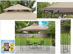 Gazebo Tent 10x10 Canopy Patio Garden Outdoor Party Wedding Backyard Cover  #GAzeboTent