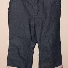 Print cuff jeans, Size 3XL
