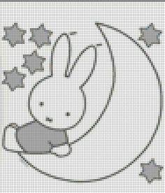 10 Beste Afbeeldingen Van Nijntje Crochet Patterns Cross Stitch