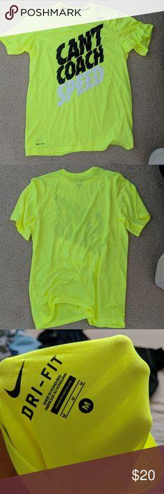 Nike tee Men's neon green Nike tee Nike Shirts Tees - Short Sleeve