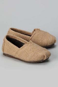 SOS Shoes Kids' Unisex Shoes In Beige Flax - Beyond the Rack