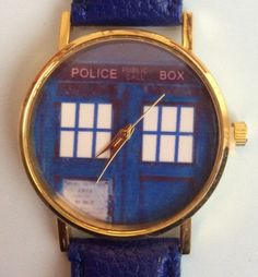 Blue Faux Leather Strap TARDIS Wristwatch #present #xmas #christmas #blue #faux #fauxleather #tardis #doctorwho #scifi #ladies #womensfashion #wrist #watch #wristwatch http://m.ebay.co.uk/itm/Blue-Faux-Leather-Strap-TARDIS-Doctor-Who-Women-Wrist-Watch-Ladies-Xmas-Police-/282191239802?nav=SELLING_ACTIVE