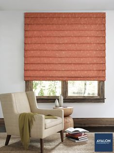 Add personality to your windows with Hunter Douglas Roman Shades 😉 #hunterdouglas #windowtreatments #romanshades #interiordesignn