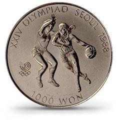 Moedas - Rio 2016   Moeda Comemorativa dos Jogos Olímpicos de Seoul 1988