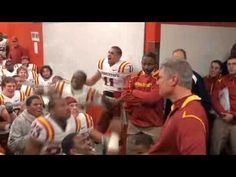 SO PROUD to have Paul Rhoads as our coach!  Iowa State postgame lockeroom celebration vs. Nebraska (10-24-09)