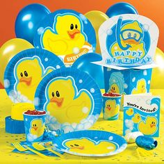 rubber duck party game and activity ideas