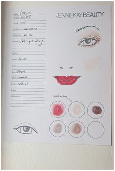 makeup face charts, jennie kay beauty, erin mcginn, greenlion design, newport sweet shoppe, couture parties, newport party loft, chloe + isabel, makeup party, makeup, erin mcginn, ella ianotti artist, videography, photography, girls night, party, party ideas, party theme, florals, cookies, party decor, jennie kay, france luxe, the finest accessories, style me pretty