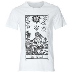T-shirt  L'etoille Tarot de Marseille Tarocchi LA di DSHIRT14
