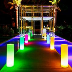 LED Pillars make for amazing accent lighting to illuminate walkways, paths, isles and more. Brighten up any party, event or wedding. Call us on 647-678-0849 to enquire about buying or renting for events in Toronto/GTA. #ledfurniture #ledfloorlamp #floorlamp #glowfurniture #accentlight #ambientlighting #leddecor #glowdecor #glowmi