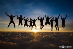 Salar de Uyuni - O Nascer do sol no salar