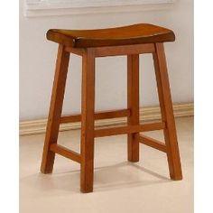 Oak Barstools (Set of 2) - Coaster 180049 $88.65