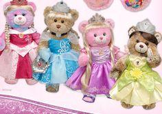 build+a+bear | Build-A-Bear Workshop's NEW Disney Princess Bears!