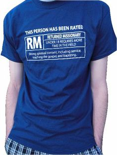 The perfect gift for any Returned Missionary (RM)