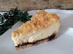 Käsekuchen mit Pflaumenmus Cake Cookies, Fun Nails, Tiramisu, Bakery, Cheesecake, Food And Drink, Ethnic Recipes, Desserts, Pudding
