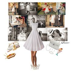 """""""Ice Cream Parlor Date"""" by jeanine65 ❤ liked on Polyvore"""