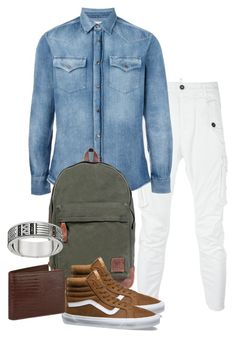 """Smart Casual"" by zahrasayyid on Polyvore featuring Dsquared2, Brunello Cucinelli, Mahi, Vans, Thomas Sabo, Tom Ford, men's fashion and menswear"