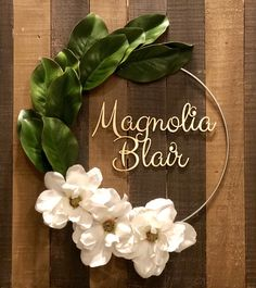 Fantastic baby nursery detail are readily available on our site. Take a look and you wont be sorry you did. Nursery Name, Girl Nursery, Southern Baby Names, Magnolia Wedding, Baby Name Signs, Fantastic Baby, Baby Arrival, Baby Girl Names, Boy Names