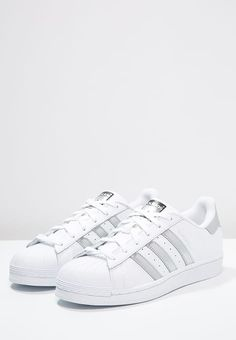 SUPERSTAR - Sneaker low - white silver metallic core black 8a0d9fa18465d
