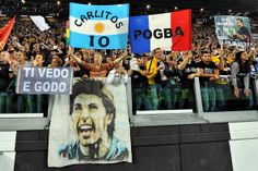 Fans of Juventus show their support during the Serie A match between Juventus and Atalanta BC at Juventus Arena on May 5, 2014 in Turin, Ita...