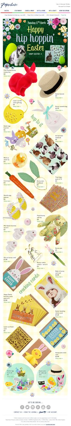 Noelle s noellesci on pinterest easter product recommendations email from paperchase emailmarketing email marketing easter product negle Choice Image