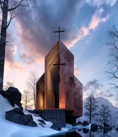 Church of St. Sacred Architecture, Church Architecture, Religious Architecture, Architecture Design, Amazing Architecture, Architecture Religieuse, Modern Church, Take Me To Church, Church Design