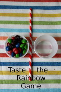 Taste The Rainbow Game - Hopeful Homemaker