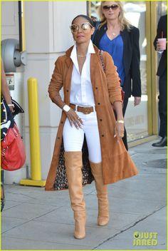 Jada Pinkett Smith shops at Giuseppe Zanotti Featuring: Jada Pinkett Smith Where: Beverly Hills, California, United States When… Winter Outfits, Casual Outfits, Cute Outfits, Fashion Outfits, Womens Fashion, Jada Pinkett Smith, Jaden Smith, Willow Smith, Giuseppe Zanotti Heels