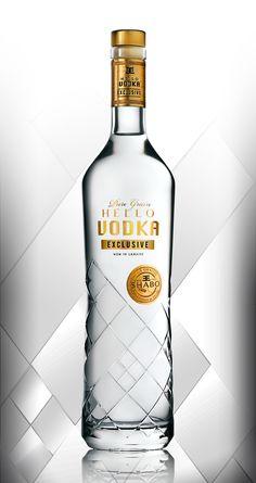 Showcase and discover creative work on the world's leading online platform for creative industries. Alcohol Bottles, Liquor Bottles, Vodka Bottle, Plastic Bottle Design, Water Bottle Design, Vodka Drinks, Cocktails, Alcoholic Drinks, Beverage Packaging