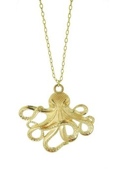 Jami Rodriguez Octopus Pendant Necklace by Jami Rodriguez on @HauteLook