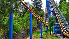 Superman el Último located at Six Flags Mexico in Mexico City is the tallest fastest and longest rollercoaster in South America – boasting a 205-foot drop.