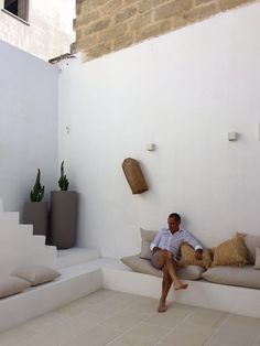 View the full picture gallery of Riad Salentino Terrasse Design, Patio Design, Exterior Design, House Design, Outdoor Spaces, Outdoor Living, Greece House, Backyard Seating, Spanish House
