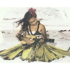 little hula girl...