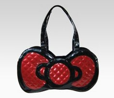 Hello Kitty Die Cut Bow Handbag: Black Wed: Fave Bow Pic #SephoraHelloKitty