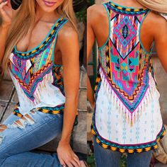 Ladies Summer Chiffon Vest Top Sleeveless Blouse Casual Tank Tops T-Shirt UK6-14 | eBay