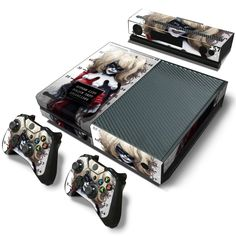A MUST Have Harley quinn PVC Skin Sticker ! product Specifications Xbox One Console + 2x Controller Skin + Kinect Skin Sticker SetCollC -Compatibility For Xbox ONE -Easy Installation -Highest Quality,