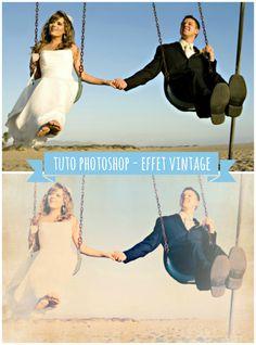 Tuto photoshop : donner un effet vintage à vos photos - Planet-cards, le blog do it yourself