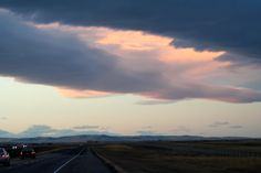 Sunset on a chinook arch in southern Alberta..love those chinooks in winter!!!
