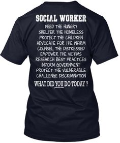 Social Worker - Limited Edition!