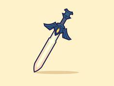 Master Sword 2 by *paperbeatsscissors