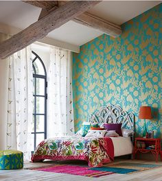 turquoise bedroom for teens (Turquoise Room Decorations) Bedroom decor ideas - Tags: turquoise bedroom decor, turquoise living room decor, turquoise room ideas, turquoise room ideas teenage Farmhouse Master Bedroom, Home Bedroom, Modern Bedroom, New Interior Design, Home Interior, Turquoise Room, Decoration Bedroom, Room Decorations, My New Room