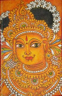 ദേവകല   ----                                                   mural paintings: mural painting-Radha