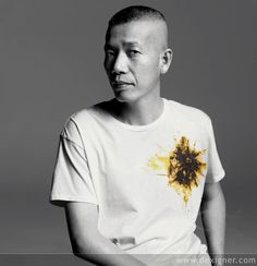 Cai Guo-Qiang 蔡國強, a Chinese contemporary artist.