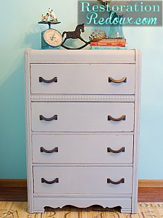 That sad, lonely dresser abandoned in the in-laws' rec room deserves its second life. Like now.