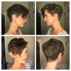 by Danielle Prince on Hair inspiration in 2019 - - Claire C. Pin by Danielle Prince on Hair inspiration in 2019 - -Pin by Danielle Prince on Hair inspiration in 2019 - - Claire C. Pin by Danielle Prince on Hair inspiration in 2019 - - Short Hair Cuts For Women, Short Hairstyles For Women, Hairstyles Haircuts, Short Hair For Girls, Boy Haircuts, Shaved Hairstyles, Curly Hair Styles, Natural Hair Styles, Short Pixie Haircuts